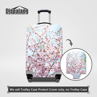 Dispalang Case On Suitcase Travel On Road Luggage Protective Covers For 18 30 Inch Cases Cherry