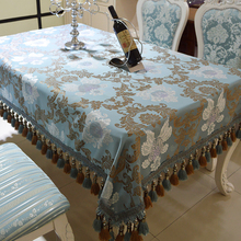 Europe Tablecloth Floral Fresh Style Table Cover Decor Rectangular Cotton Table Cloth with Tassels Home Kitchen Tischdecke Decor europe style cotton linen table cloth country style solid multifunctional table cloth rectangular table cover home kitchen decor