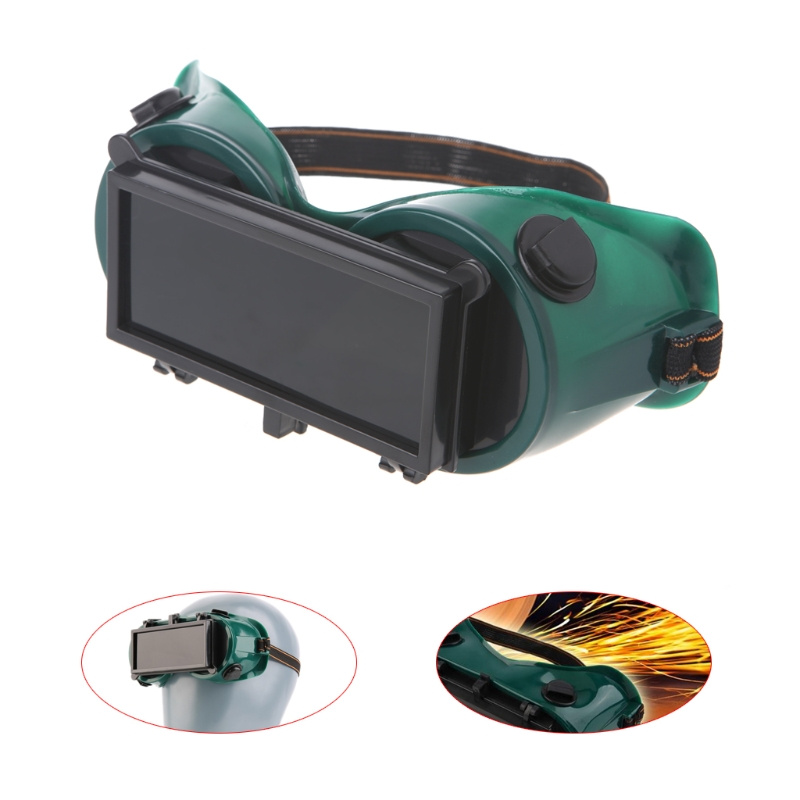 Cutting Grinding Welding Goggles With Flip Up Glasses Lenses Welder Safety Protective Eyewear