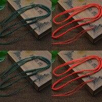 50Strands Bag Necklace Nylon Cord Chain Choker For Tibetan Agate Dzi Beads Adjustable Cord Chain 2