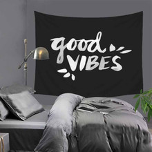 цены Nordic Abstract Scenery Letter Wall Decoration Beach Towels Home Decor Hanging Living Yoga Mat Printing Wall Tapestry LZE3