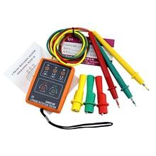 3 Rotação de Fase Indicador Tester Detector Medidor de LED + Buzzer SM852B FRETE GRÁTIS