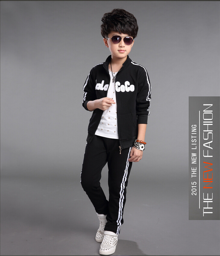 Children S Teens: Kids Boys Girls Tracksuits Sports Suits Clothing Sets