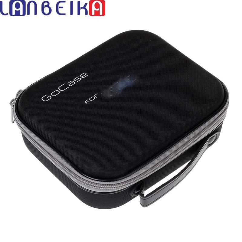 Laneige colección bolsa caja de almacenamiento Portable Gocase protectora a prueba de golpes para Gopro Hero 6 5 4 3 + SJCAM SJ6 SJ7 SJ4000 Eken