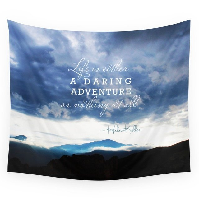 Life Is Either A Daring Adventure Or Nothing At All Helen Keller