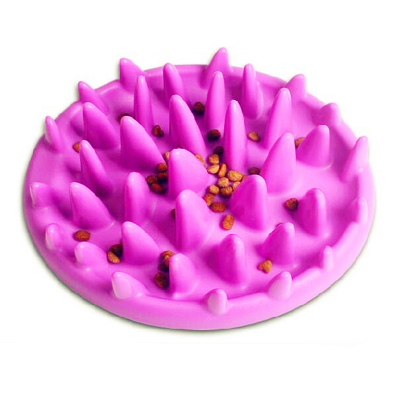 Non Slip Anti Gulping Feeder Bowl for dogs cats