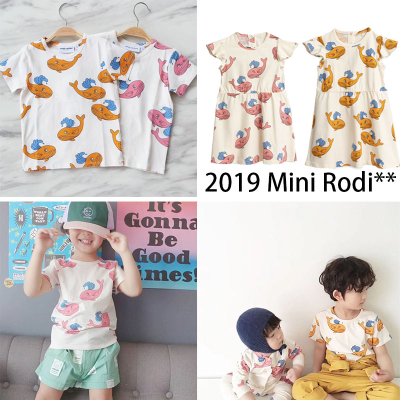 EnkeliBB 2019 Mini Ro** Baby Girls Dresses Whale Pattern Sister Brother Matching Clothes Kids Brand Clothing Summer Girls DressEnkeliBB 2019 Mini Ro** Baby Girls Dresses Whale Pattern Sister Brother Matching Clothes Kids Brand Clothing Summer Girls Dress