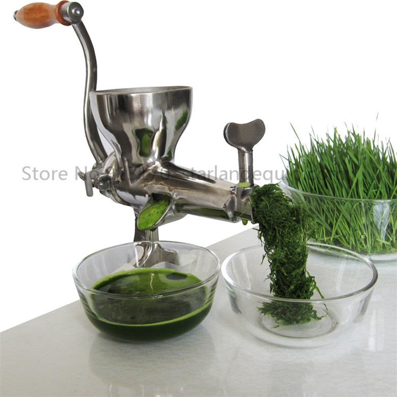 Stainless Steel Juice Extractor Hand operated Juice Squeezer Presser 2016 hot sale Food Tool