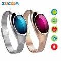 Pulseira Bluetooth inteligente Pulseira Z18 Pressão Arterial de Oxigênio Monitor de Freqüência Cardíaca Pedômetro À Prova D' Água Para iOS Android Dos Homens Das Mulheres