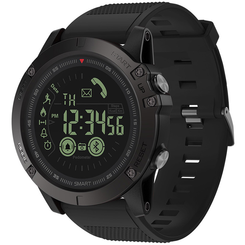 Zeblaze VIBE 3 reloj inteligente Dial luminoso Batería baja recordar momentos compartir pulsera IP67 (50 m) resistente al agua largo tiempo en espera
