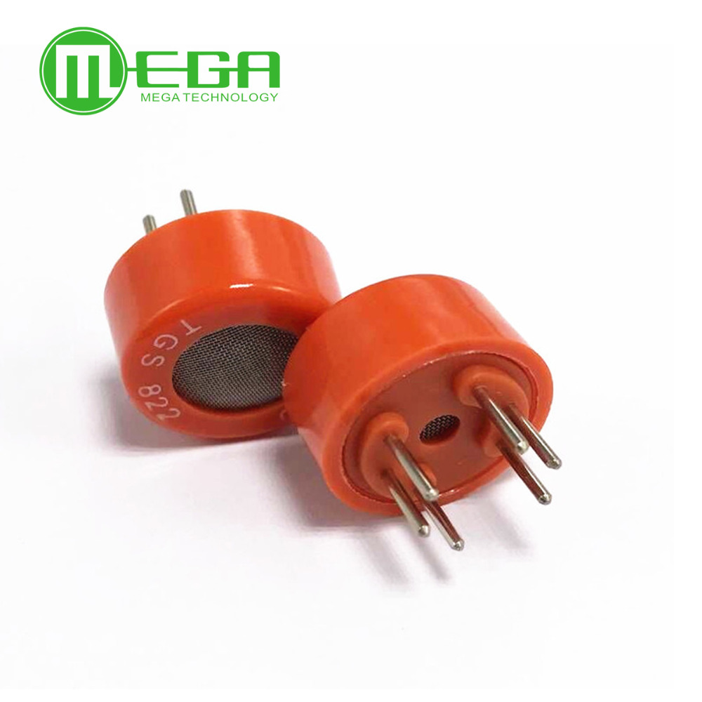 10PCS TGS822 Gas Sensor for the detection of Organic Solvent Vapors