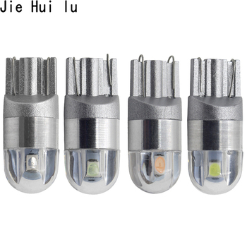 1Pcs T10 W5W LED Car Light SMD 3030 Marker Lamp WY5W 192 501 Tail Side Bulb Wedge Parking Dome Light Auto Styling DC 12V image