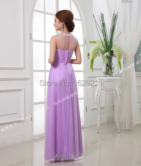 Lilac Lavender Purple Long Beaded Tank Junior Bridesmaid Dress Wedding Guest In Dresses From Weddings Events On Aliexpress