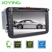 Quad Core 1024*600 2 Din Android 6.0 Car Audio Radio GPS de navegación Para Volkswagen VW Scirocco Passat Sedan Polo Golf 5 6 Fabia
