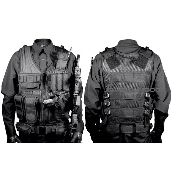 Army Police Military Tactical Vest Wargame Body Armor Sports Wear Molle Assault Airsoft Paintball Carrier Strike Vest