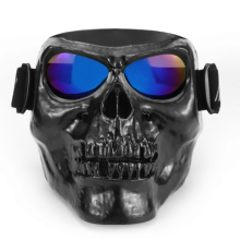 Skull Head motorcycle goggles vehicle glasses off – road Dirt Bike vehicle bike protection equipment