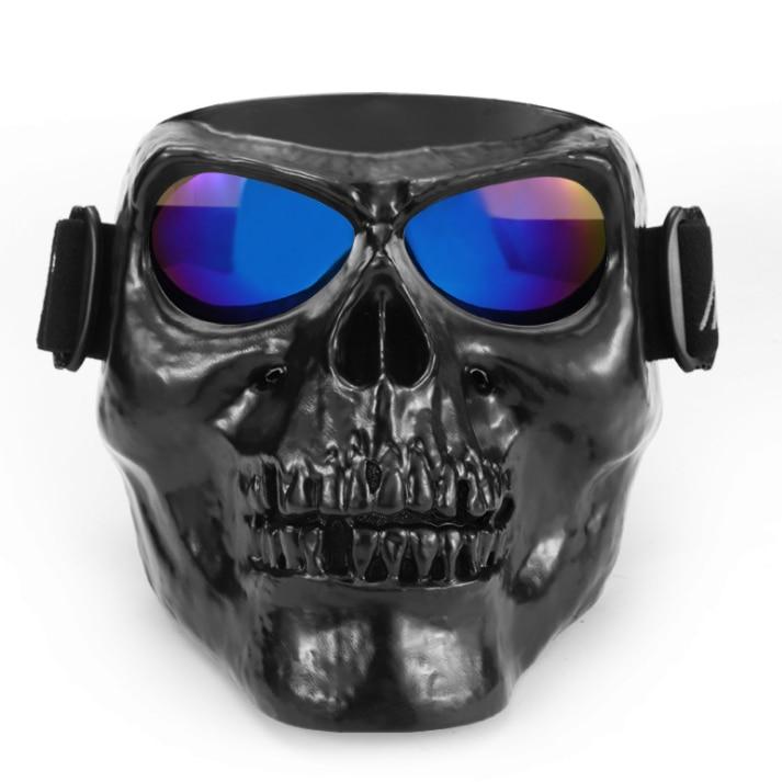 Skull Head motorcycle goggles vehicle glasses off - road Dirt Bike vehicle bike protection equipment