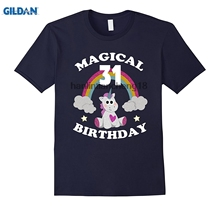 GILDAN 2018 31st Birthday Shirt Magical Unicorn T RainbowChina