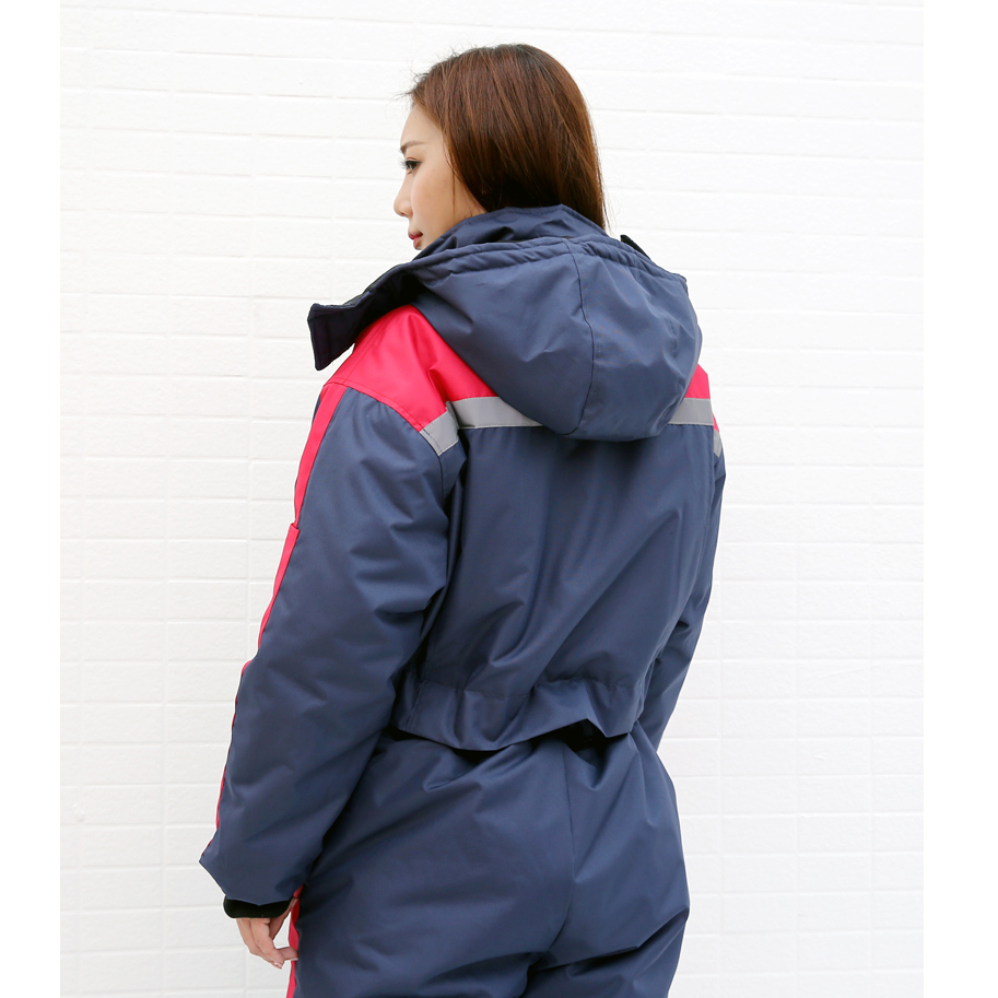 new arrival buy best unbeatable price US $77.67 41% OFF|Winter work clothing thick warm cotton padded overalls  antifreeze cold waterproof men women outdoors thermal protection  uniforms-in ...