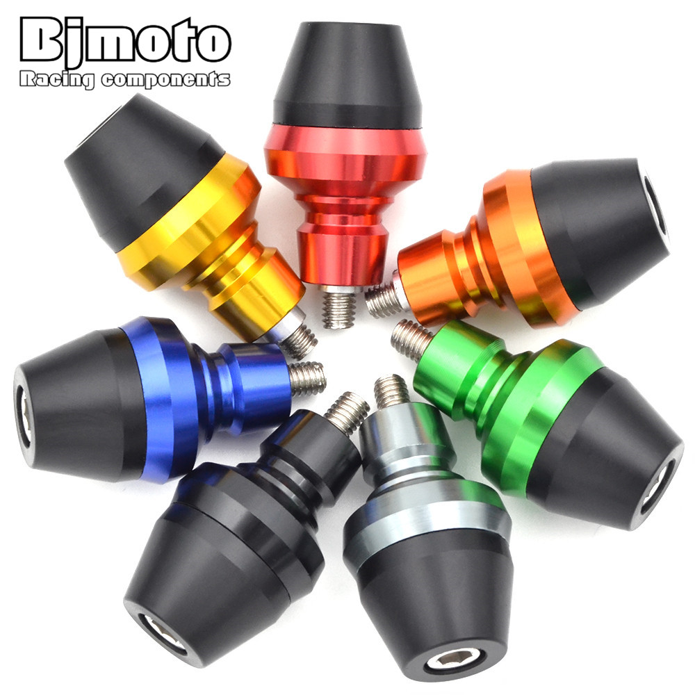 1 Pair Universal Motorcycle Motocicleta Front Fork Frame Sliders Screw Bolt Crash Protection Motocross For BMW Ducati Victory(China)