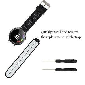 Image 2 - Baaletc Garmin öncüsü 235 için yedek bant kordon akıllı saat için Garmin öncüsü 230/235/235 Lite/220/620 /630/735XT