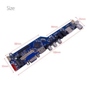 Image 5 - CV56XL L evrensel LCD LED TV denetleyici sürücü panosu kiti TV/PC/VGA/HDMI/USB arayüzü matris V53RUUL Z1