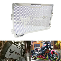 KEMiMOTO For MT07 MT 07 Radiator Grille Guard Cover Protector For Yamaha MT 07 2014 2015 2016 2017 Motorcycle Accessories