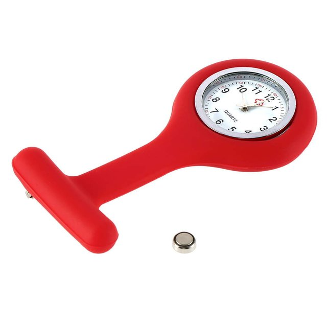 Pocket Silicone Fob Watches For Men And Women