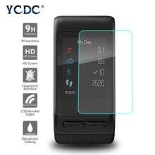 YCDC 1PC 9H 2.5D פרימיום מזג זכוכית מסך מגן עבור Garmin Vivoactive HR מגן סרט פיצוץ הוכחה ברור