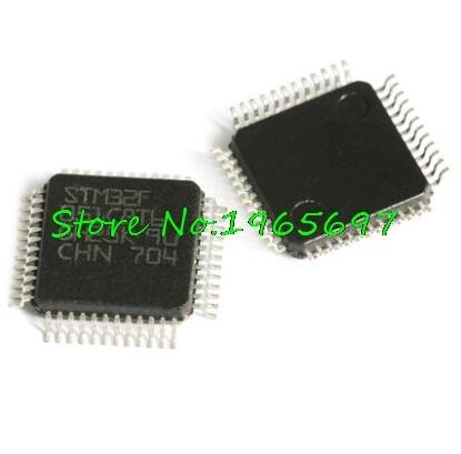 1pcs/lot STM32F051C8T6 STM32F051C8 STM32F051 32F051 QFP-48 In Stock