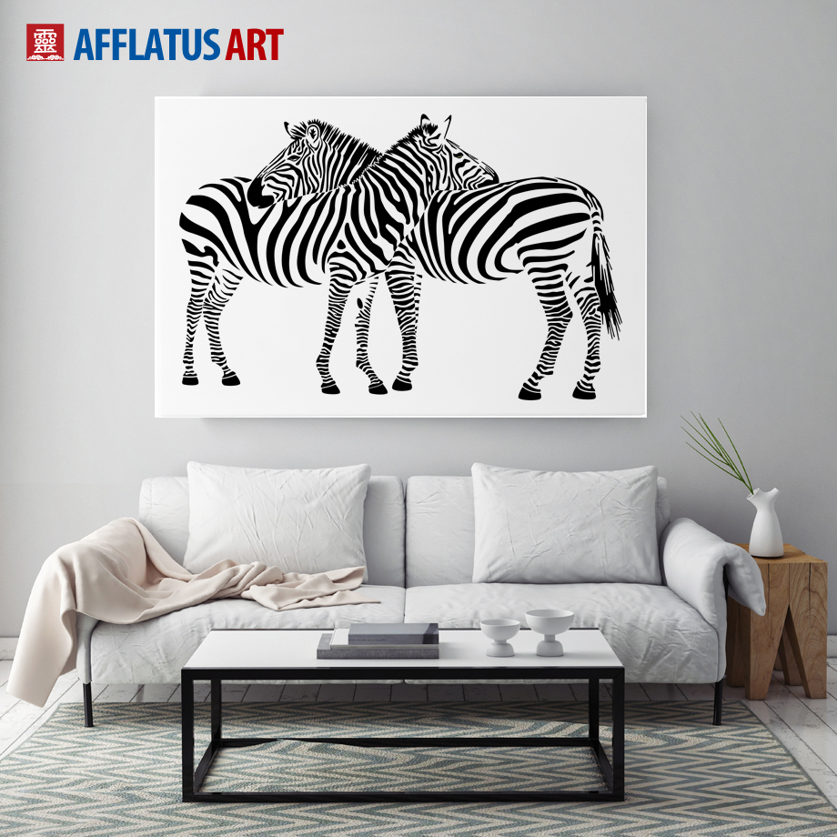 Zebra Wall Art compare prices on zebra print wall decor- online shopping/buy low