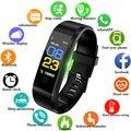 Смарт-браслет LIGE с пульсометром  шагомером и шагомером  спортивный фитнес-трекер  мужские и женские Смарт-часы для IOS  Android