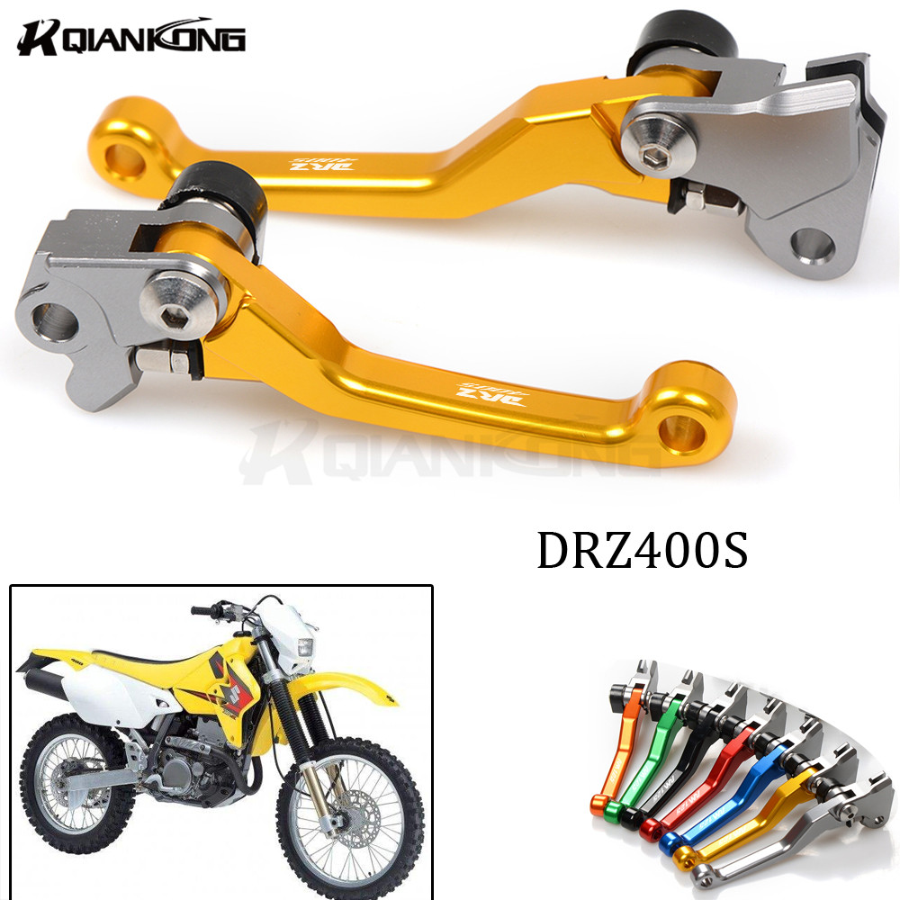 CNC Pitvo Dirt Motorcross Brake Clutch Lever for SUZUKI DRZ400S/SM DR250R DRZ400S DRZ400SM DR 250R DRZ 400S 400SM 1997-2015