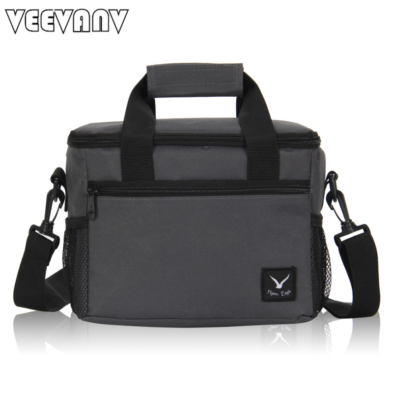 2017 VEEVANV Oxford Thermo Lunch Bags for Kids Women Thermal Bag Lunchbox Insulated Storage Container Picnic <font><b>Cooler</b></font> Bags Handbag