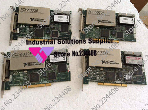 Original NI PCI-6032E 16 input multi function data card simulation 100% tested perfect quality original ni pci 6013 selling with good quality and professional