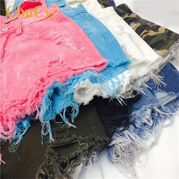 Plus Size Summer Rompers Womens Jumpsuit Denim Short Overalls for Women Playsuits salopette femme en jean Peto Vaquero mujer 6