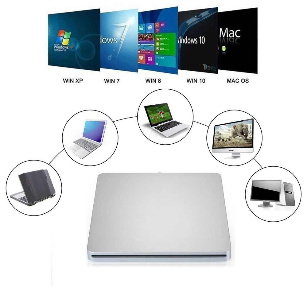 Detail Feedback Questions about USB 3 0 Slot Load Drive Slim