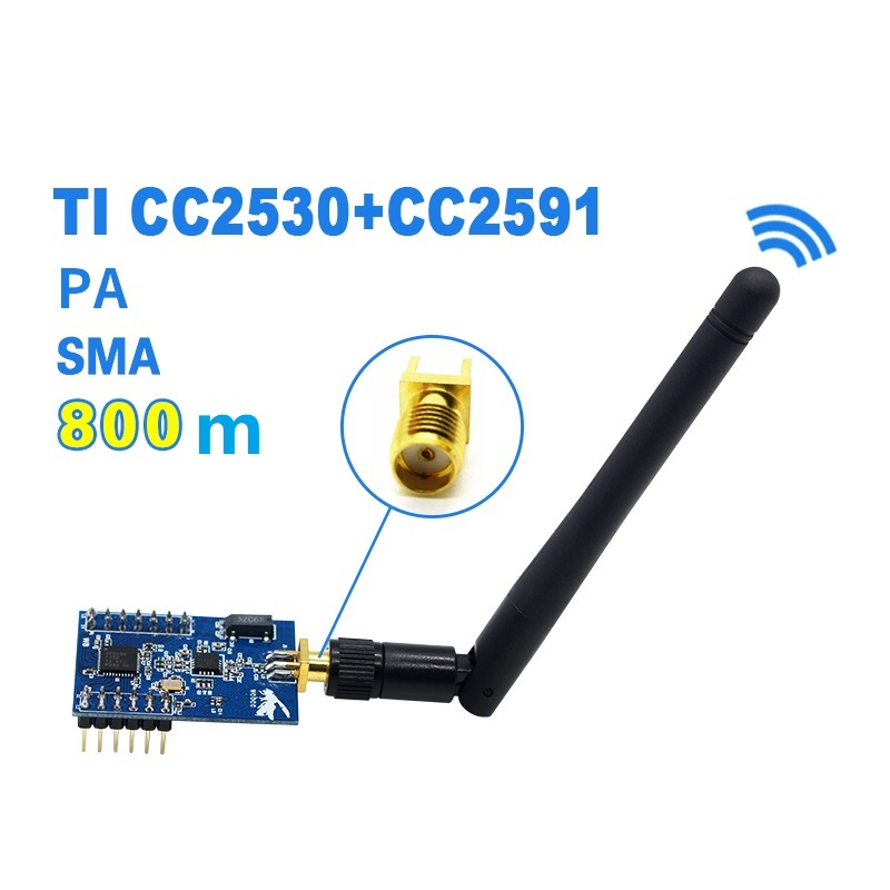 Image 2 - ZigBee Conversion Serial port TTL uart Wireless PA Module CC2530+CC2591-in Switch Caps from Home Improvement