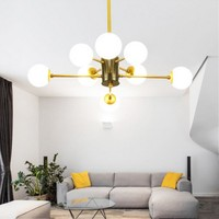 Northern Europe Modern Creative Concise Style Milky Glass Pendant Light Postmodern Dining Room Decoration Lamp Free Shipping