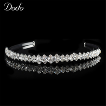 Фотография Clear Design CZ Diamond Austrian Crystal Hair Jewelry Accessory For Women Wedding Prom Fashion Party Engagement Bridal Tiaras 44