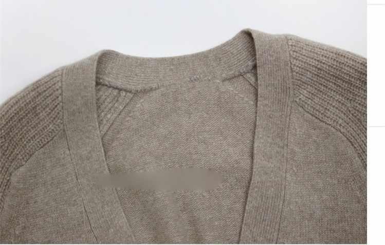 Женский кардиган с длинными рукавами, вязаный кашемировый свитер, женские весенне-осенние вязаные теплые кардиганы, женские модные топы