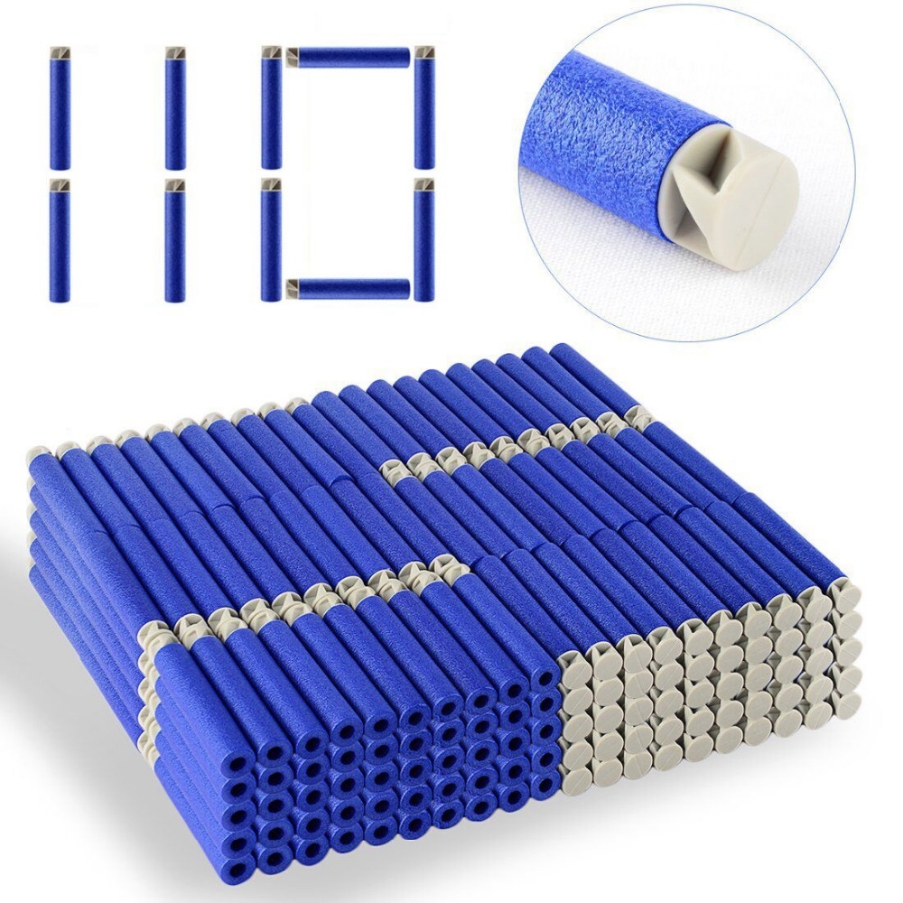 Balas de recarga, 110 pces-dardo reenchimento pacote de dardos para nerf/n-strike elite accustrike series blaster