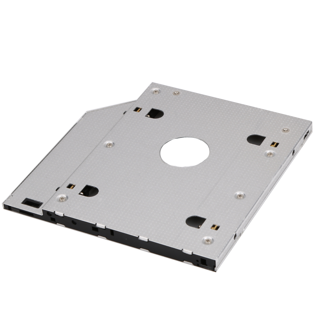 9.5mm SATA-to-SATA 2nd Hard Drive SSD HDD Module Caddy Adapter For Laptop Mother Board Hard Disk Drive Caddy Data Storage