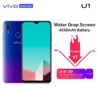 vivo U1 6.2'' Screen 4G RAM 64G ROM Smartphone Snapdragon439 Octa Core 4030mAh Face ID and Fingerprint Android 8.1 Mobile Phone
