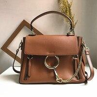 Brand Handbag Women Large Bucket Shoulder Bag Female High Quality Genuine Leather Tote Bag Fashion Top