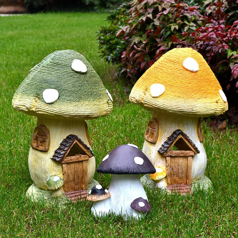 creative garden decoration simulation mushroom house sculpture landscape kindergarten courtyard park landscape decoration