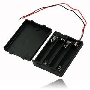6 Styles---4 AA,3 AA,2 AA, 2A Battery Holder Case Box With ON OFF Switch Black externa para celular 4 AAA,3 AAA,2 AAA bateria(China)