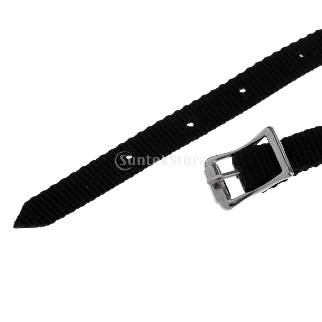 10pcs Thickened Weave English Spurs Straps Horse Riding Equestrian Accessories