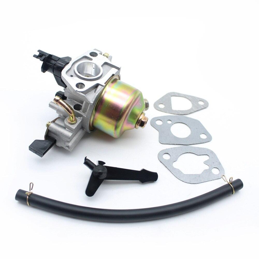 Carburetor Fuel Tap Petcock Choke Rod Pipe Gasket Set Fit HONDA GX120 GX140 5.5Hp, 6.5Hp Small Engine Generator