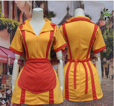 free shipping two broke girls halloween costume sexy costumes dresses